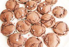 White Chocolate Peppermint Oreos