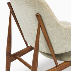 Rare easy chair designed by Ib Kofod-Larsen and produced by Christensen & Larsen in Denmark