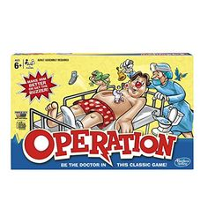 Operation Game by Hasbro *** Read more  at the image link.Note:It is affiliate link to Amazon.