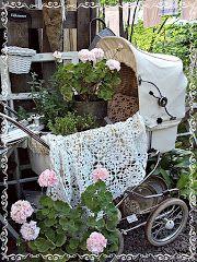 Sofias Bod: En gammal barnvagn.....