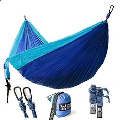 Winner Outfitters Double Camping Hammock Lightweight Nylon Portable Hammock Best Parachute Double Hammock For Backpacking Camping Travel Beach Yard. 118(L) x 78(W) This is a popular choice from the hot selling items in Sports category in USA. Click below to see its Availability and Price in YOUR country.