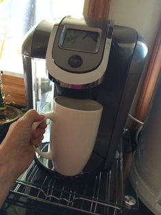 Keurig 2.0 This is definitely the best thing about waking up!  the option 2 make a cup or a carafe! @Influenster #HelloKeurig
