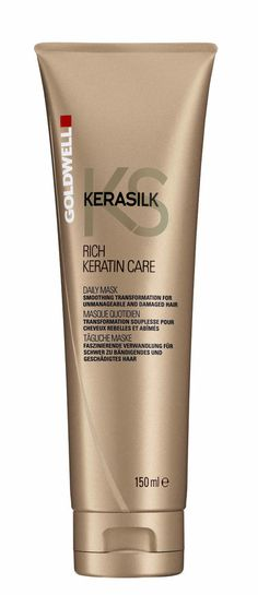 Goldwell KERASILK RICH KERATIN CARE DAILY MASK 5 oz / 150 ml unmanageable damage #Goldwell