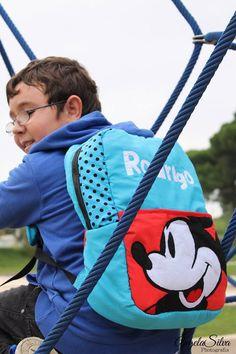 Backpack for big girls and boys  Mochilas para os mais crecidos, menino e menina. Mickey e Anime .