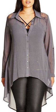 Plus Size High/Low Shirt