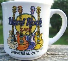 HARD ROCK CAFE SAVE THE PLANET UNIVERSAL CITY Ceramic MUG