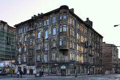 An old tenement in Warsaw's Praga Warsaw, Old Photos, Poland, Shots, City, Places, Travel, Google, Prague