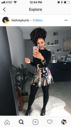 women hairstyles KinkyCurlyRelaxed ExtensionsBoard - My list of woman hairstyles Black Girl Fashion, Look Fashion, Autumn Fashion, Fashion Outfits, Womens Fashion, Classy Outfits, Stylish Outfits, Look Legging, Mode Kpop