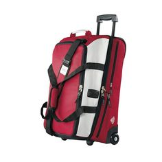 New trendy colour for this Vaude Samoa travelbag on wheels Jack Spade, Tonga, Online Shopping, Trendy Colors, Campsite, Travel Bags, Orange, Red, Stuff To Buy