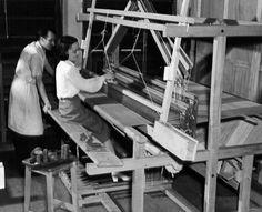 weaving course | Montreal, Canada | 1947