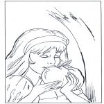 All sorts of - Coloring page Snow White