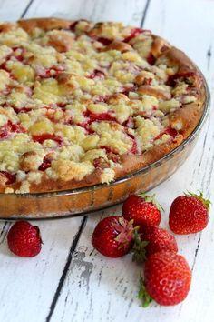 Mielettömän hyvä mansikka-raparperipiirakka - Jannen Keittiössä ruokablogi