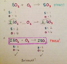 Color coding: Another way to teach balanced equations