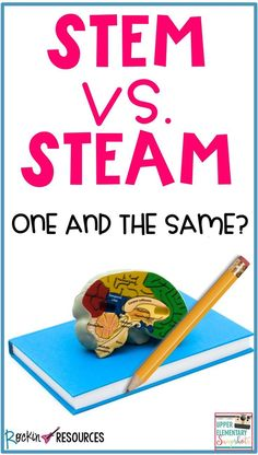 Learn about STEM and STEAM. Are they one and the same? Teaching Activities, Stem Activities, Teaching Kids, Teaching Resources, Teaching 5th Grade, 5th Grade Teachers, Project Based Learning, Learning Skills, Math Stem