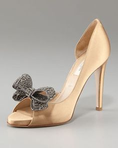 Valentino Jewelry Couture-Bow d'Orsay Pump on shopstyle.com