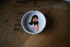 Vintage Ashtray, Jesus, My Dad Created the Universe and All I Got Was This Lousy T Shirt, Hippie, Kitsch, Retro Ash Tray, Fun, Silly Gift, by BrindleDogVintage on Etsy