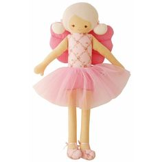 Fairy Doll (Vintage Garden) by Alimrose from Australia. Tall and elegant, this fairy will be anyone's favorite doll.