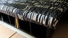 Un lit avec EXPEDIT et du rangement - Bidouilles IKEA