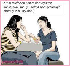 Kızlar bazı konularda, anlaşılmazdır ;) | Hayata Gülümse | Pek Marifetli!