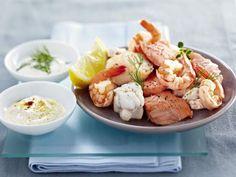 Sauce Pour Fondue, Fondue Oceane, Potato Salad, Seafood, Potatoes, Meat, Chicken, Cooking, Ethnic Recipes