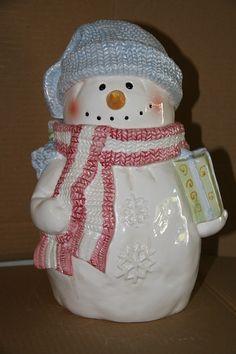 character cookie jars | Cookie jar Christmas Cookie Jars, Christmas Dishes, Holiday Cookies, Christmas Dinnerware, Christmas Tea, Teapot Cookies, Man Cookies, Cute Cookies, Glass Cookie Jars