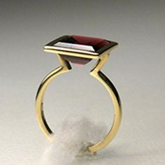 Solitaire Ring #contemporaryjewelry