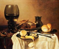 Famous Still Life Paintings | Famous Still Life Paintings By Dutch Artist Pieter Claesz