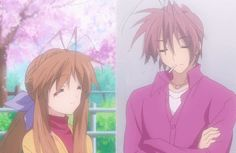 Furukawa Sanae and Akio Koi, Clannad After Story, Naruto, Angel Beats, School Life, Character Art, Nerdy, Fantasy, Manga