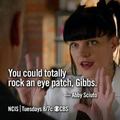 Lol Abby!!