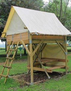 tent on piloti - Google Search