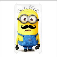 My new Minion Mustache IPhone Case!!!!!!!