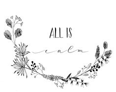 Excited to share the latest addition to my #etsy shop: All Is Calm. Hand-lettered, Hand-Drawn, Intentional Holiday Words by Ink to Grain. http://etsy.me/2zAwtYo #art #drawing #black #christmas #white #alliscalm #silentnight #homedecor #handlettering