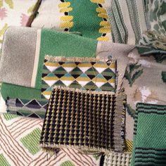 """#lemanach #splendors #ruedumail  #madeinfrance #customfabrics #love #interiors #homedecor"" Photo taken by @lamaisonpierrefrey on Instagram, pinned via the InstaPin iOS App! http://www.instapinapp.com (01/28/2015)"