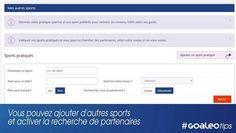Cette vidéo permet de simplifier la compréhension de la recherche de partenaire sur Goaleo.  Réseau social sport Sports social network