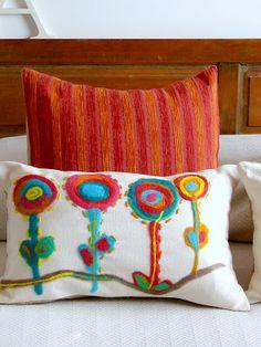 "Almohadones ""puro handmade"": artesAna"