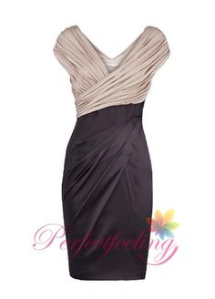 2014 New black mother of the bride dresses V by PerfectFeeling