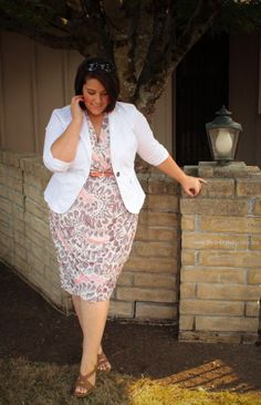 Classy for work!  Plus Size Work Outfit