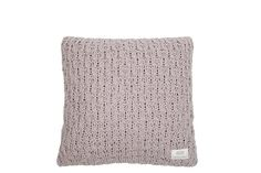 MrsBLOOM: Knitted Cushion Narbonne old pink 45x45