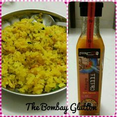 POHA WITH A TWIST Find out a simple way to make the humble, yummy poha more exciting only on www.thebombayglutton.com