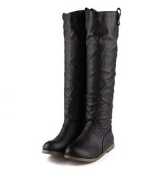 Women's Sexy Flat Knee High Boots Dress Boots * Details can be found by clicking on the image.