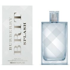 Burberry Brit Splash (EDT, 50ml – 100ml) ($61) ❤ liked on Polyvore featuring beauty products, fragrance, burberry fragrance, burberry perfume, eau de toilette perfume, edt perfume and burberry