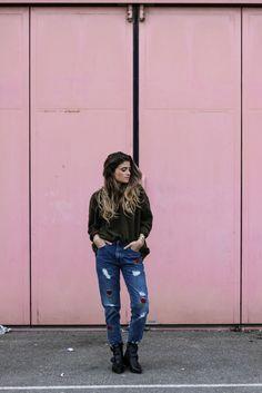 Mom jeans Pull & Bear / OCTOBRE 2016 / Fashion style / www.marieandmood.com