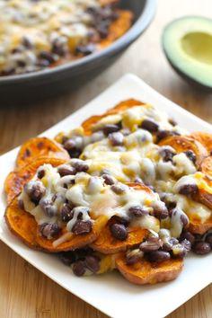 Sweet Potato Nachos (RECIPE), http://www.savorystyle.com/sweet-potato-nachos/
