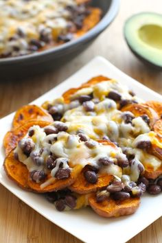 Sweet Potato Nachos (RECIPE), http://www.savorystyle.com/sweet-potato-nachos/