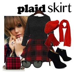 """""""Cute and comfy plaid!"""" by brandonandrews500 ❤ liked on Polyvore featuring Giuseppe Zanotti and Oliver Peoples"""