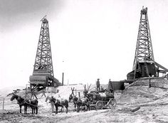 Old Stuff from the Oil Fields - Antique Trucks  Wagons