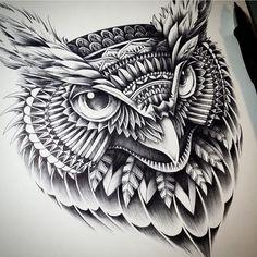 Owl by Bioworkz