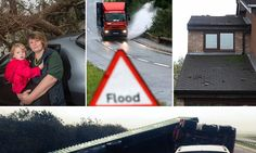 22nd Oct 2013 -  Britain battered by 50mph winds and flood warnings issued with heavy rain set to sweep across the country for next TEN DAYS