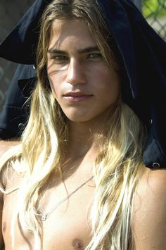 Long Haired Guys - YES!! Don't usually go for blondes, but I could make an exception