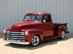 1949 Chevy truck - Chevrolet by Hercio Dias